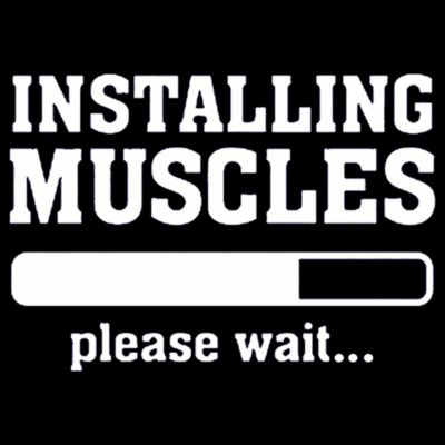 Installing Muscles  Loading  T Shirts